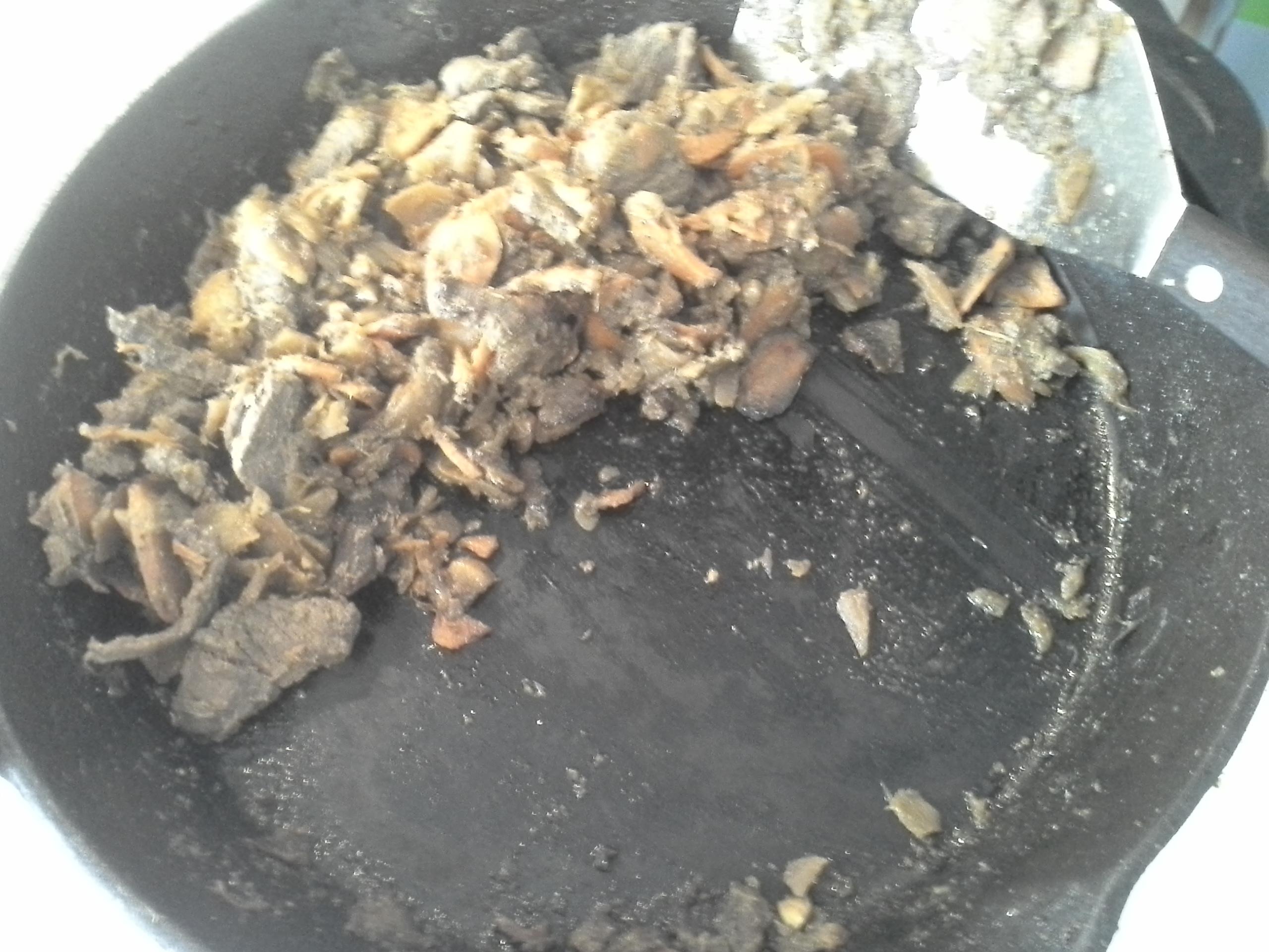 Breakfast: 10:45 a.m.   8 oz. bison, 1 carrot, 1/2 rutabaga, 1/2 sweet onion, 4 cloves garlic, 2 Tbsp. ghee, herbs & spices