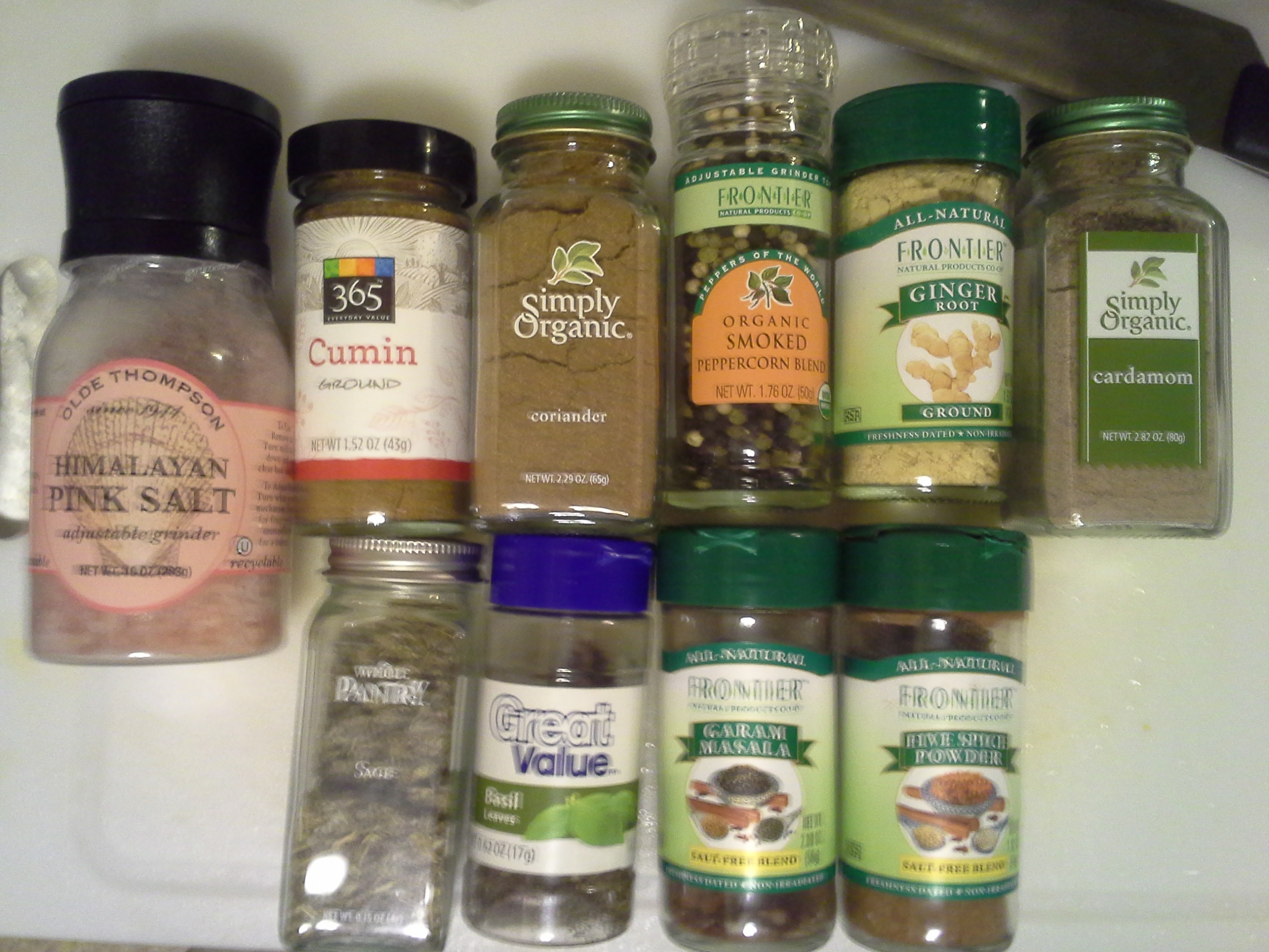 Start adding all the spices (I think the garam masala and Chinese five spice go especially well with butternut squash)